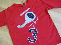 "Geburtstags-Shirt ""Hubi"", 3 Jahre, Langarmshirt"