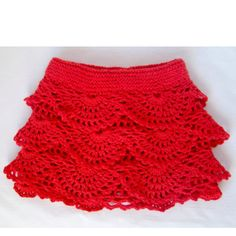 Great Valentines Day toddler skirt!  Love it!