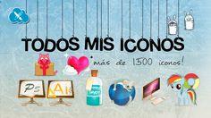 ♥ Todos mis iconos || MEGAPACK ♥