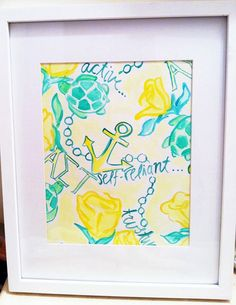 Alpha Sigma Tau Lilly Pulitzer Inspired Sorority by SREdesign, $15.00