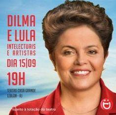 O s    E s p i n h o s    d o     M a n d a c a r ú: Artistas e intelectuais com a Dilma