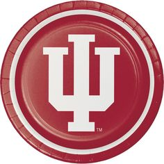 Case of Indiana University 8.75'' Dinner Plates (96/case)