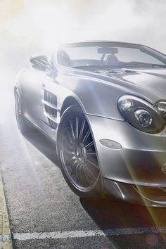 ♂ wheels Silver car SLR McLaren Roadster