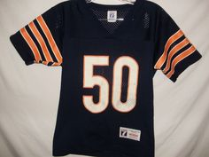 95ded39ce6a Chicago Bears Vintage Youth Size Medium Football Jersey Short Sleeved A26  #logo7 #ChicagoBears