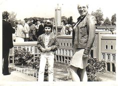 With my mom in Madurodam 1968