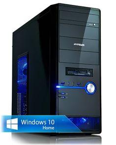 Ankermann-PC PHANTHER, Intel Core i5-4460 4x 3.20GHz, Zotac GeForce GTX 1060 6GB, 8 GB DDR3 RAM, 120GB Kingston SSD, 1TB Western WD/Toshiba, Microsoft Windows 10 Home 64Bit (Deutsch), Card Reader, EAN 4260409311947