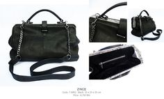 Handbag  Doctor : DL-646 PYTHON  Color : black python  Dim : 16x35x25 cm.  Price : 6,750 thb.  Now available at Zince @ K-village Sukhumvit 26  / For more information pls follow the link  www.zinceshop.com or facebook/zince  or email : zinceshop@hotmail.com