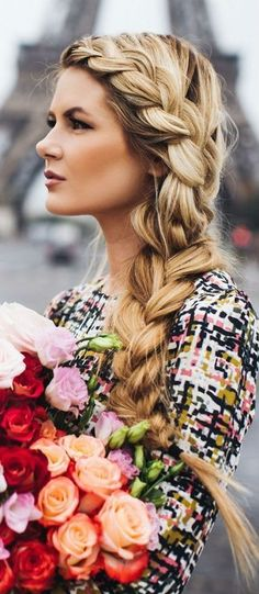 romantic braid idea