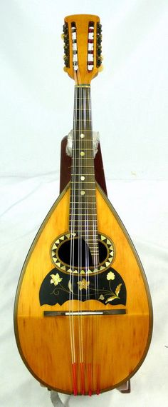 Antique Embergher mandolin