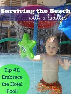 Surviving the Beach- Tips for taking a Toddler to the Beach | Serendipity and Spice