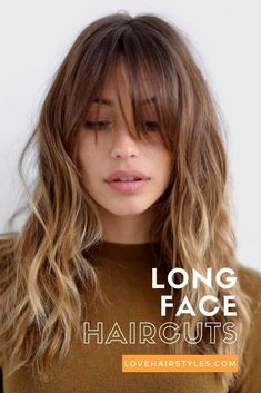 Brunette Long Hairstyles with Bangs . Elegant Brunette Long Hairstyles with Bangs . 101 Best Long Hairstyle Ideas for Women Of All Age Groups. 16 Beautiful Hairstyles with Bangs and Layers In 20 Flattering Hairstyles for Oval Faces In 2018 Hair Long Face Haircuts, Haircuts For Curly Hair, Cool Haircuts, Layered Haircuts, Haircut For Long Face, Hair Long Face, Haircut Men, Haircuts With Fringe, Modern Haircuts