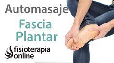 Auto-masaje de la fascia plantar para el tratamiento de la fascitis plantar