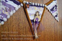 Bombshell Stamps, Bombshell Angel Stamp Set, Banner, http://sharonshowcase.blogspot.com