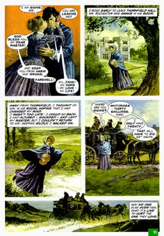 Jane Eyre graphic novel panel