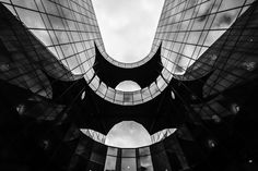 More London Riverside Place http://mabrycampbell.com #image #photo #photograph #photography #london #morelondon #architecture #london #building #blackandwhite #mabrycampbell #officebuilding #england