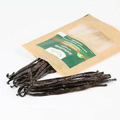 15 Vanilleschoten | Papua-Neuguinea Vanille | 13cm Schotenlänge | Typ: Tahiti Vanille | Premium Qualität | sehr ergiebig beim Auskratzen | vom Vanille Shop
