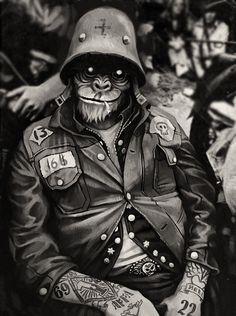 monkey biker