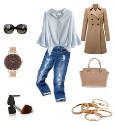 A fashion look from November 2016 featuring polyester shirt, double breasted coat and faux-leather jeans. Browse and shop related looks. Olivia Burton, Bottega Veneta, Kendra Scott, Miss Selfridge, Alexander Wang, Tommy Hilfiger, Michael Kors, Shoe Bag, Polyvore
