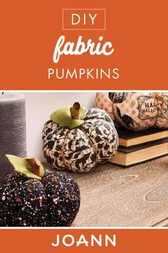 How To Make Fabric Pumpkins Fall Projects, Sewing Projects, Projects To Try, Fabric Pumpkins, Warm Sweaters, Apple Crisp, Joanns Fabric And Crafts, Thanksgiving Ideas, Craft Stores
