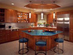 18 Modern Kitchen Ideas For 2018 300 Photos  Luxury Kitchens Amusing Kitchen Island Design With Seating Design Decoration