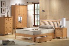 Joseph Wales Single Wooden Bed