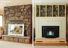 Amazing 22 Best Stone Fireplace Makeover Images In 2018 Fireplace Download Free Architecture Designs Sospemadebymaigaardcom