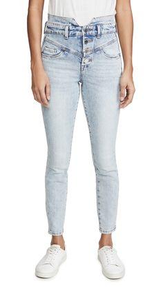 BLANK DENIM HARD FEELINGS JEANS. #blankdenim #cloth Fast Fashion, Denim Fashion, Blank Denim, Denim Jeans, Skinny Jeans, Jeans Fabric, Denim Outfit, China Fashion, Stretch Denim