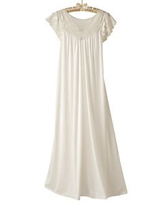 1efacf7998675 Shop National for Shadowline s Silken Luxury Cap Sleeve Gowns