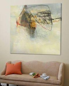 Loft Art: In the Cloud V by Jane Davies : 72x72in
