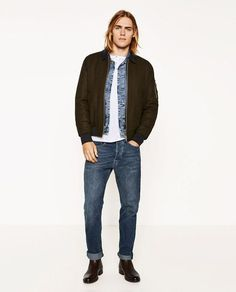 Ton Heukels Poses for Zara Men The Weekender Lookbook