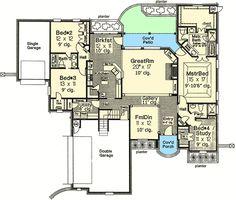 European Styling with Options - 48101FM | Architectural Designs - House Plans