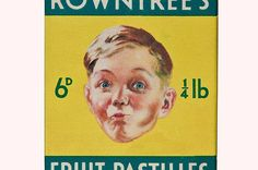 Fill yer gob: Fruit pastilles were a bargain