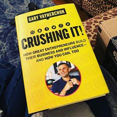 Excited to read this book that just arrived! Whats the best business or social media book youve read recently? Id love to know! #crushingit #garyvaynerchuk #garyvee