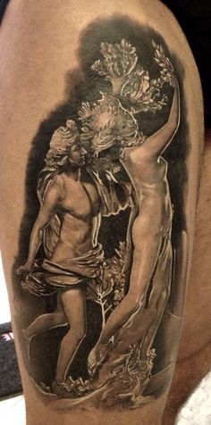 Ink by tattoo artist Matteo Pasqualin