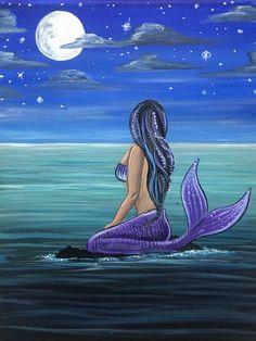 Mermaid Canvas, Mermaid Artwork, Mermaid Drawings, Mermaid Tattoos, Mermaid Paintings, Fantasy Mermaids, Real Mermaids, Mermaids And Mermen, Mermaid Pictures