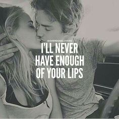 No no I won't soft lockable kissable lips