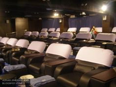Spa inside a movie theater in Manila....shouldn't they all have this? lol