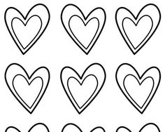 heart template - Google Search