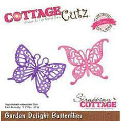 Die - Garden Delight Butterflies - 5,7 x 4,3 cm