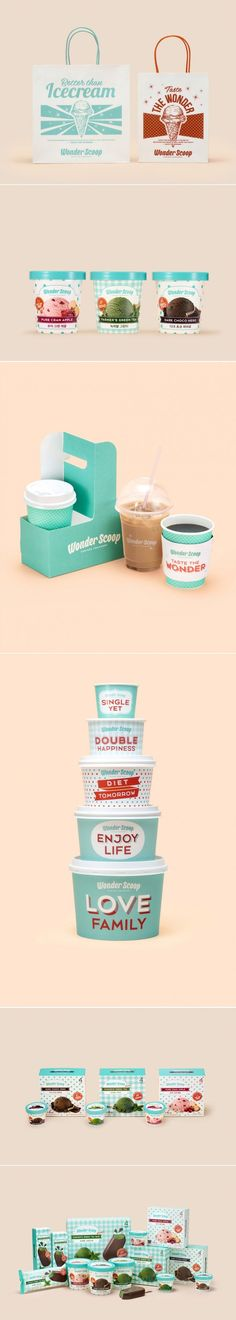 Vintage Inspiration + Sassy Phrases = One Adorable Ice Cream Brand — The Dieline | Packaging & Branding Design & Innovation News