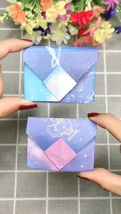 origami yapm video and decorations Diy Crafts Hacks, Diy Crafts For Gifts, Diy Arts And Crafts, Creative Crafts, Handmade Crafts, Handmade Birthday Gifts, Cool Paper Crafts, Paper Crafts Origami, Fun Crafts