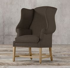 RHu0027s 1920s Georgian Wingback Chair:Weu0027ve Reproduced A Wing Chair From 1920s  England