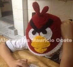 Resultado de imagem para touca angry birds crochet
