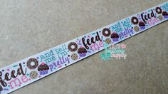 US Designer 7/8 Grosgrain Ribbon -Feed Me & Tell Me I'm Pretty, M2M Donut/Sprinkles Collection, Jazzy Lu Ribbons, Bottle Cap Images by LulusBowtiqueSupply on Etsy https://www.etsy.com/listing/271929506/us-designer-78-grosgrain-ribbon-feed-me