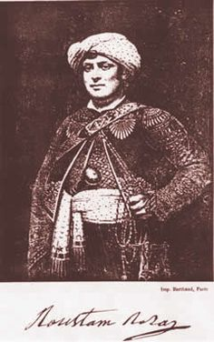 Roustam Raza, Napoleon's personal bodyguard and servant