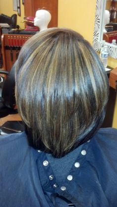 Natural press & highlited with mohawk illusion color