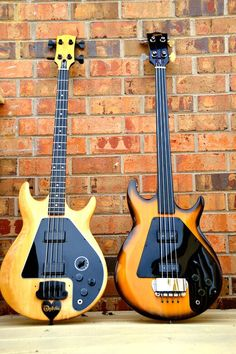 Modified 1978 gibson ripper bass and stock 1976 fretless gibson ripper.