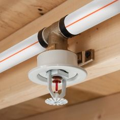 Watts Residential Fire Sprinklers Sprinkler System Design, Fire Sprinkler System, Fire Protection System, Mechanical Room, Fire Alarm System, Fire Prevention, Electrical Installation, Home Technology, In Case Of Emergency