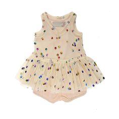 Sequin Baby Dress