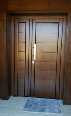 Are you looking for the best wooden doors for your home that suits perfectly? Then come and see our new content Wooden Main Door Design Ideas. Wooden Front Door Design, Wooden Double Doors, Modern Wooden Doors, Double Door Design, Contemporary Front Doors, Wooden Front Doors, Wooden Door Hangers, Flush Door Design, Home Door Design